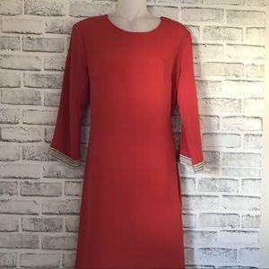 MM Couture Orange/Coral dress